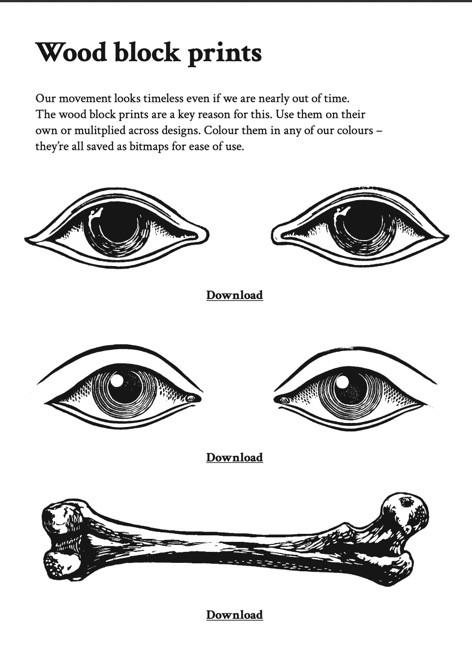 Eyes and Bones