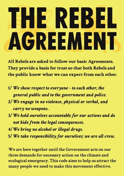 Rebel Agreement text